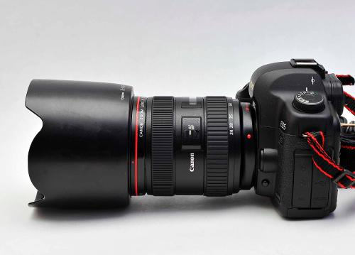 Canon 24-70mm 2.8 II USM on camera