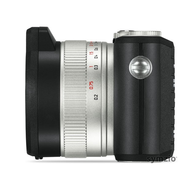 Leica XU: Side view