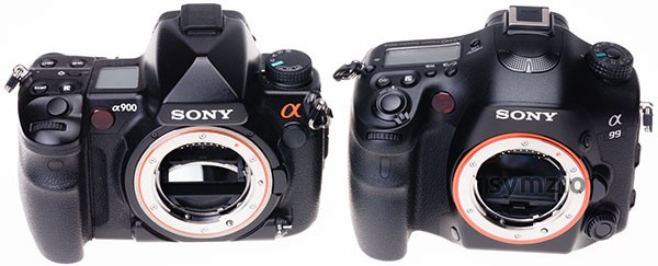 Alpha mount DSLRs - Sony A900 and A99